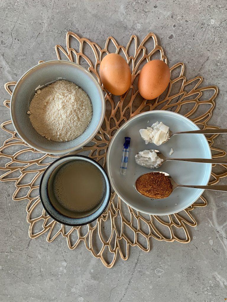 продукти-мини-кокосови-палачинки-американски-стил